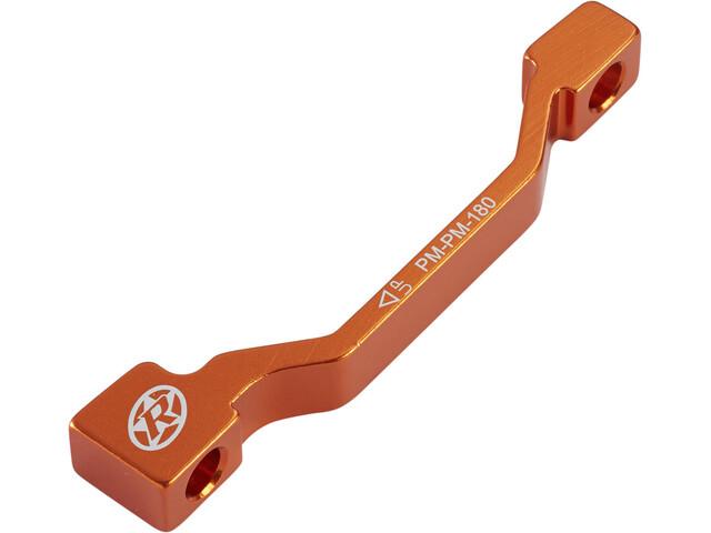 Reverse PM-PM Schijf Adapter 180mm, orange
